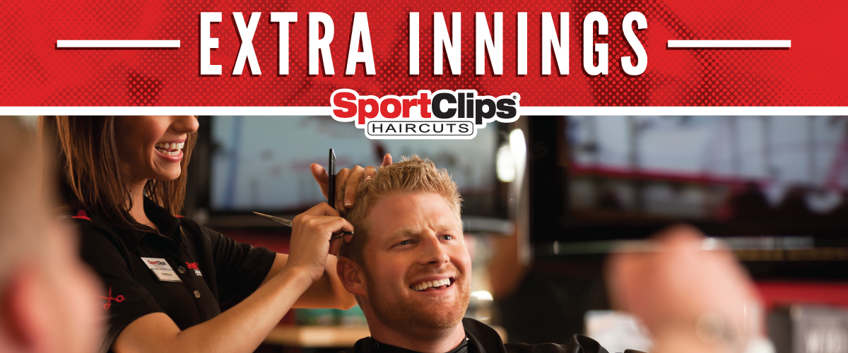 The Sport Clips Haircuts of Boynton Beach Extra Innings Offerings